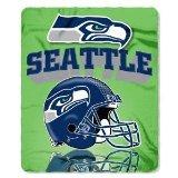 NFL Licensed Super Bowl Champions Seattle Seahawks Series Fleece Throw Blanket