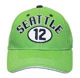 Seattle Seahawks Adjustable Embroidered Baseball Hat Cap Lid