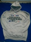 New! 2005 NFL Conference Champions Seattle Sea Hawks Hoodie 2XL.
