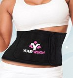 Weight Loss Ab Belt - Waist Trimmer To Lose Belly Fat - Best Fitness & Exercise Workout Equipment For Abs Providing Essential Lower Back Support ON SALE TODAY!