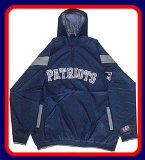 New England Patriots Windbreaker Jacket Big Tall Sizes (4XL)