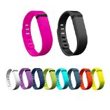 Best_Express 2015 New 10pcs Large L Colorful Replacement Bands With Clasps for Fitbit FLEX Only /No tracker/ Wireless Activity Bracelet Sport Wristband Fit Bit Flex Bracelet Sport Arm Band Armband (Large-9 holes on one side)