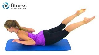 Bikini Body Pilates - 27 Minute Abs, Butt and Thighs Pilates Workout by FitnessBlender.com