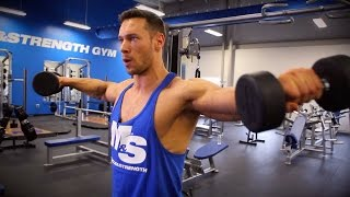 3 Exercise Variations For Building Big And Wide Shoulders