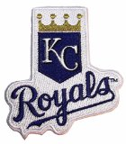 MLB Kansas City Royals Name and Embroidered Logo Patch