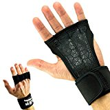 Mava Sports Cross Training Gloves with Wrist Support, Large - Black