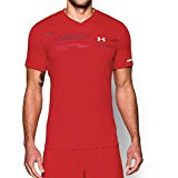 Under Armour Men's Challenger Graphic Training Top, Risk Red/White, Large