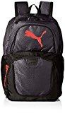 PUMA Men's Contender Backpack, Black/Red