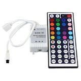 SUPERNIGHT IR Remote Controller 44 Keys for RGB LED Light Strip