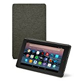 All-New Amazon Fire HD 8 Tablet Case (7th Generation, 2017 Release), Charcoal Black