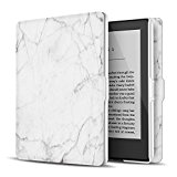 TNP Case for Kindle Paperwhite - Slim & Light Smart Cover Case with Auto Sleep & Wake for All-New Amazon Kindle Paperwhite Fits All 2012, 2013, 2015 and 2016 Versions (Marble White)