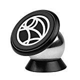 Car Phone Mount, Dashboard Magnetic Car Phone Holder for Cell Phones and GPS, Magnetic Cell Phone Holder for iPhone 7 / 6 / 5 Galaxy S7 / S6 | Top Rated by Uber Lyft Drivers