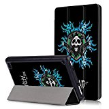 Fire HD 7 inch Case,Fire HD 7 Leather Case 7th Gen -PU Leather Slim-Fit Trifold Protective Skin Folio Case Stand Cover for Amazon Kindle Fire HD 7 Inch Display Tablet