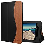 Ztotop Folio Case for Amazon All-New kindle Fire HD 10 Tablet (2017 Release, 7th Generation) - Smart Cover Slim Folding Stand Case with Auto Wake / Sleep,Blackbrown