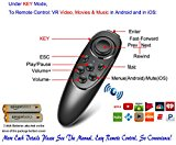Universal Wireless Gamepad Remote With 2 Battery, For PC/Tablet/Mobile Game, Video, Music, Selfie, Mouse, Flip Page of Kindle E-book PPT Nook Easy PC Control Virtual Reality Samsung Gear VR Controller