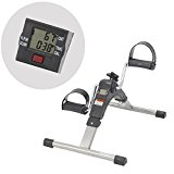 AdirMed Digital, Foldable Pedal Exerciser Leg Machine (Fully Assembled, no tools required)
