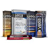 Vega Sport starter kit, with protein, electrolytes, and more samples, 10 Count