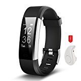 Fitness Tracker HR, Activity Tracker Watch with Heart Rate Monitor, IP67 Waterproof Smart Band, Step Counter Pedometer Watch for Men Women and Kids