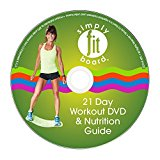 Simply Fit Board - 21 Day Challenge Workout Kit (1 Workout to Be Done Every Day for 21 Days)