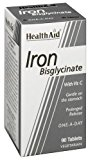 HealthAid Iron Bisglycinate (Iron with Vitamin C) 90 Tablets