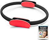 321 STRONG Pilates Ring - Red and Black