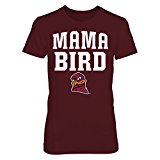 FanPrint Mama Bird - Virginia Tech Hokies - Gildan Women's T-Shirt - Officially Licensed Fashion Sports Apparel