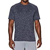 Under Armour Men's Tech Short Sleeve T-Shirt, Academy/Steel, Medium