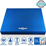 Balance Pad, Balance Trainer for Stability - Balance Board for Rehab, Use as Foam Mat, Foam Pad for Physical Therapy, Kneeling Pad with Foam Padding, Wobble Cushion Dimension: 20x16x2.5 inch (Blue)