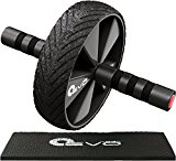 Yoga EVO Ab Wheel Kit for Ab Workout - Core Wheel and Knee Pad Set for Abdominal Training and Core Exercises