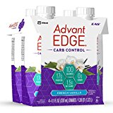 EAS AdvantEDGE Carb Control Ready-To-Drink Shake, French Vanilla, 11 Fluid Ounce, 4 Counts (Pack of 5)