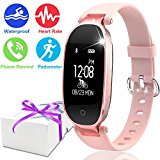 Symfury Fitness Tracker Sport Smart Watch for Women Men Kid IP67 Waterproof Bluetooth Heart Rate Monitor Pedometer GPS Activity Tracker Calorie Band for Swim Run Outdoor for Mom Dad Android iPhone