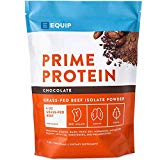 Chocolate Beef Paleo Protein Powder: Keto Collagen Low Carb Ketogenic Diet Supplement Vital for Caveman & Carnivore Nutrition of Ancient Source. Best as Gelatin Muscle Meat Proteins Drink. Equip Foods