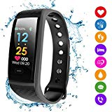 Fitness Tracker HR, Smart Bracelet 2018 New Activity Tracker with Pedometer Color Display Blood Pressure Heart Rate Sleep Monitor GPS Route Tracking IP67 Waterproof for Android Iphone Adults Kids