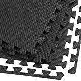 Clevr Interlocking EVA Gym Foam Floor Mat Tiles (24