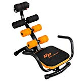 Goplus Abdominal Twister Trainer Height Adjustable Incline Workout Equipment Ab Rocket Exerciser