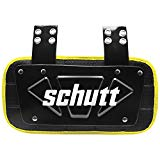 Schutt Sports Neon Football Back Plate, Neon Yellow, Varsity