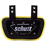 Schutt Sports Neon Football Back Plate, Neon Yellow, Youth
