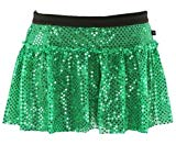 Green Sparkle Running Skirt S