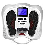 Foot Circulation Plus - Medic Foot Massager Machine with TENS Unit, EMS (Electrical Muscles Stimulator) Feet Legs Massage for Neuropathy, Relieve Nerve Pain and Cramps,Foot Physical Therapy Devices