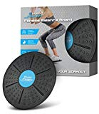 Aduro Sport 14'' Balance Board Wobble Fitness Fit Exercise Tilt Stability Balancer Balancing Rocker Board Trainer Abs Legs Core Workout Non-Slip Safety Surface