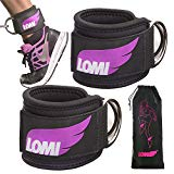 LOMI Ankle Straps for Cable Machines - Ankle Strap - Ankle Cuff For Cable Machine - Set Of Two