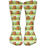 Cananhjs Whimsical Groundhog Day Out Athletic Tube Stockings Women's Men's Classics Socks Sport Long Sock One Size